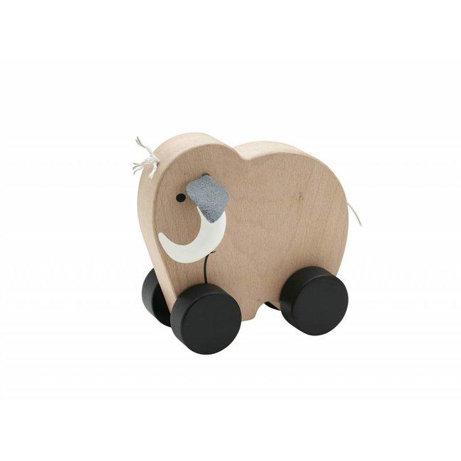 Kid's Concept Houten Speeltje Mammoet NEO Push | Kid's concept
