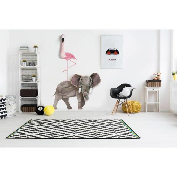 Wild & Soft Muursticker Flamingo | Wild & Soft