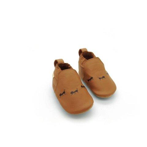 Babyschoentjes Ants Cognac | Boumy