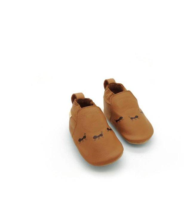 Boumy Babyschoentjes Ants Cognac | Boumy