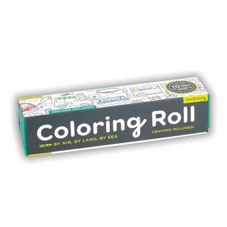 Mudpuppy Mudpuppy | Coloring Roll Voertuigen