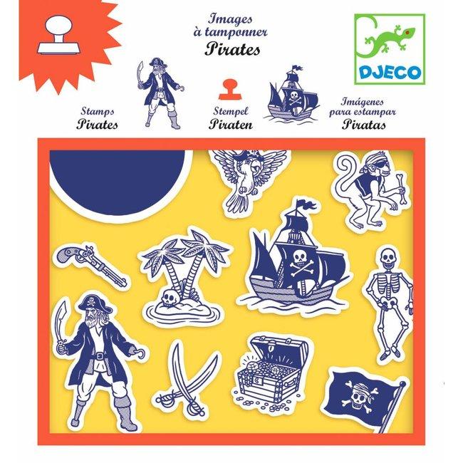Djeco Djeco | Stempelset Piraat