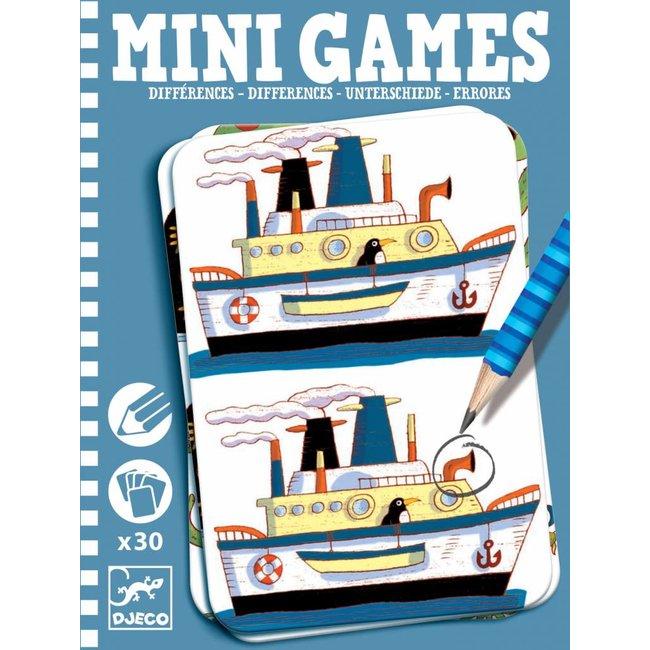 Djeco Djeco | Mini Games Verschillen Zoeken Boys