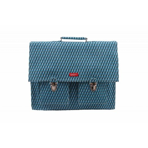 2 vaks-boekentas / Schooltas XL Canvas Diamond   Bakker made with love
