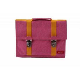 Bakker made with Love Kleuterboekentas / Schooltasje MB Happy Pink | Bakker made with love
