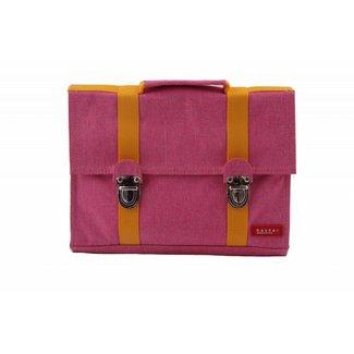 Bakker made with Love Kleuterboekentas / Schooltasje MB Cordura Happy Pink | Bakker made with love