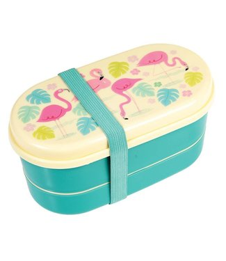 Rex Inter. Lunchbox / Brooddoos bento Flamingo | Rex