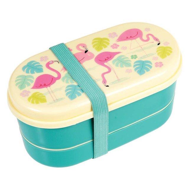 Rex Inter. Lunchbox / Brooddoos bento Flamingo | Rex