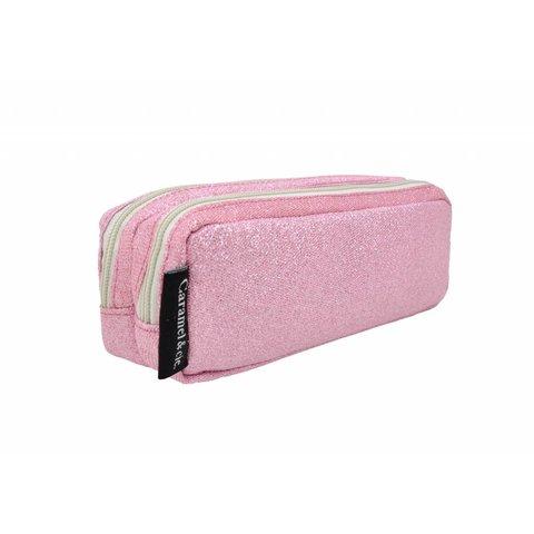 Pennenzak glitter roze | Caramel & Cie