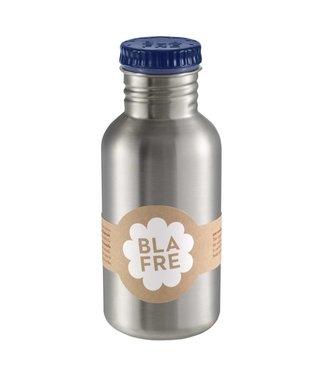Blafre Stalen Drinkfles 500ml Donkerblauw   Blafre
