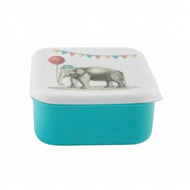Sass & Belle Brooddoos Olifant 'Party Animals' | Sass & Belle