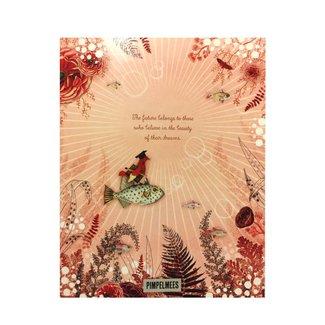 Pimpelmees A5 Notitieboekje Visjes | Pimpelmees