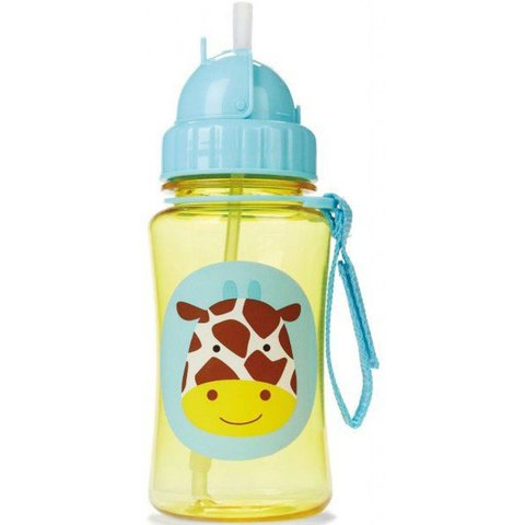 Drinkfles met Rietje Giraf   Skip Hop