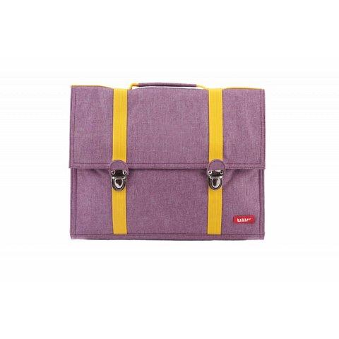 Boekentas / Schooltas Groot Cordura Happy Purple | Bakker made with love