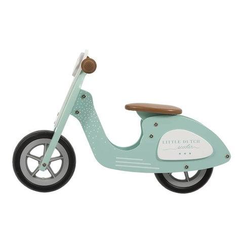 Houten Loopfiets Scooter Mint   Little Dutch