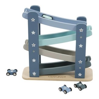 Little Dutch Houten Autobaan Mixed Stars Mint | Little Dutch