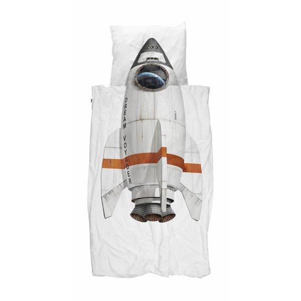 Snurk Eenpersoons Dekbedovertrek Rocket | Snurk