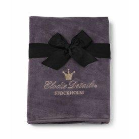 Elodie Details Dekentje Pearl Velvet Plum Love | Elodie Details