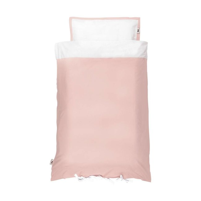 House of Jamie Ledikant Dekbedovertrek Powder Pink 100 x 135 cm | House of Jamie