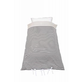 House of Jamie Ledikant Dekbedovertrek Breton 100 x 135 cm | House of Jamie