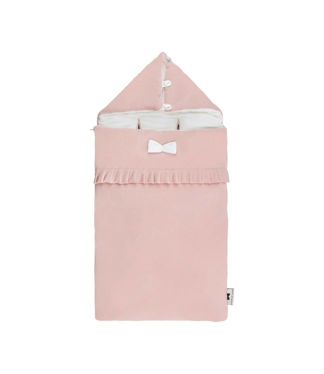 House of Jamie Voetenzak / Trappelzak Powder Pink | House of Jamie