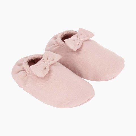 Babyschoentjes met Strikje - Powder Pink | House of Jamie