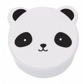 A Little Lovely Company Snackdoosjes Panda - Set van 4 | A Little Lovely Company