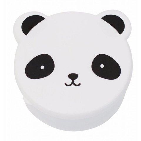 Snackdoosjes Panda - Set van 4 | A Little Lovely Company