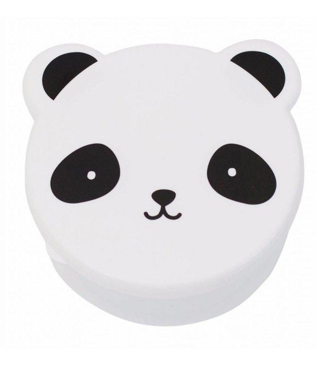 A Little Lovely Company Snackdoosjes Panda - Set van 4   A Little Lovely Company