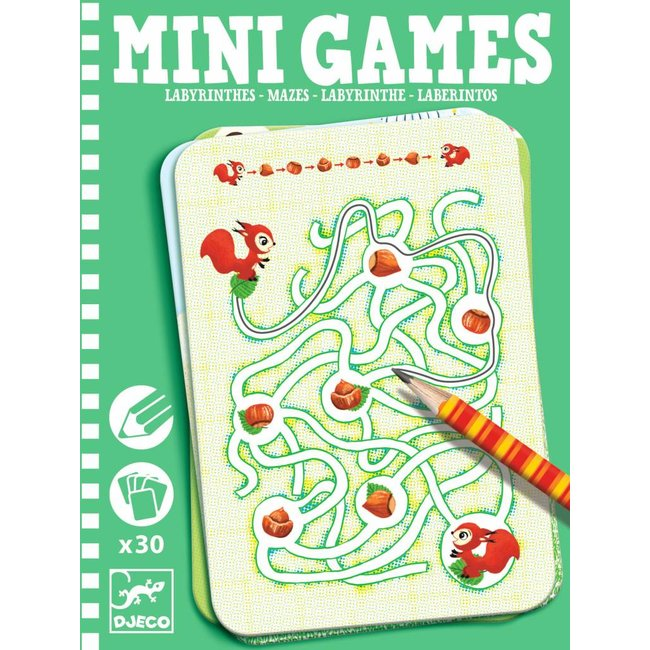 Djeco Djeco | Mini Games Labyrint - Doolhof