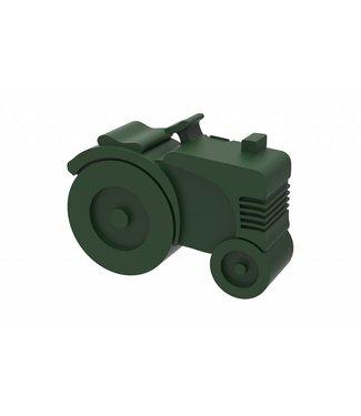 Blafre Brooddoos / Lunchbox  Tractor Donkergroen | Blafre
