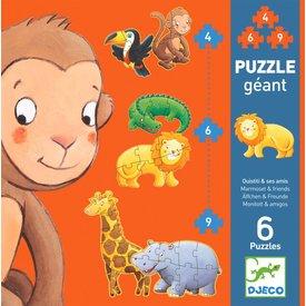 Djeco Puzzel XL Jungle | Djeco