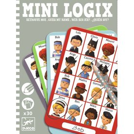 Djeco Mini Logix 'wie is het?' boys | Djeco