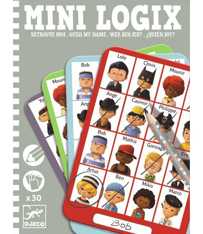 Djeco Mini Logix 'wie is het?' boys | Djeco