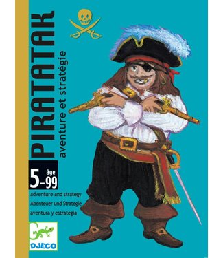 Djeco Djeco | Kaartspel Piratatak  - Strategiespel