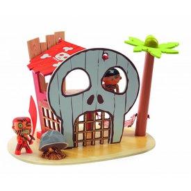 Djeco Djeco | Arty Toys PIRAAT - Pirateneiland