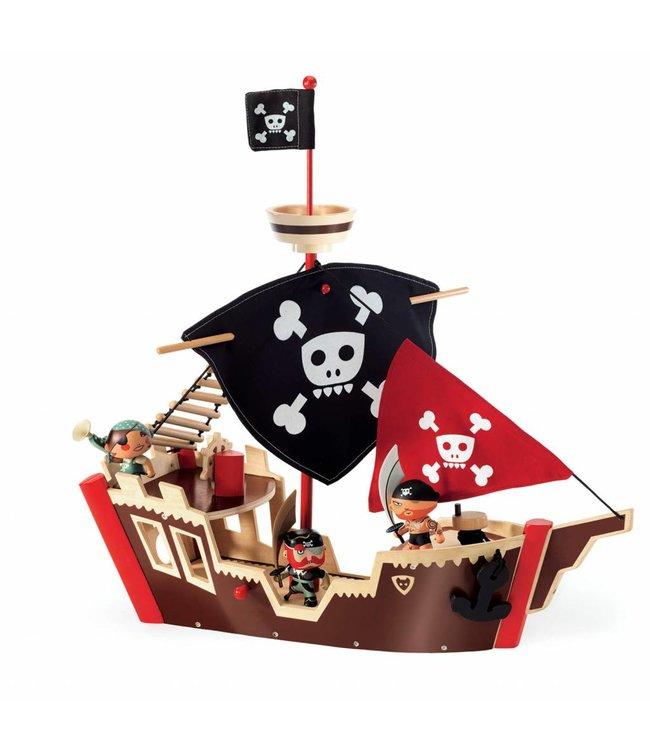 Djeco Djeco | Arty Toys PIRAAT Piratenboot