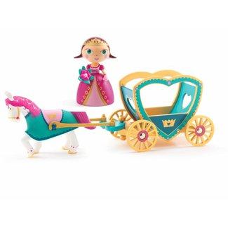 Djeco Djeco | Arty Toys PRINSES Alycia en de Koets