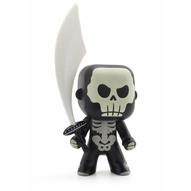 Djeco Djeco | Arty Toys RIDDER Skully (Glow in the Dark)