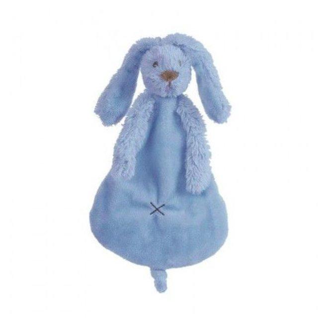 Happy Horse Knuffeldoekje / Doudou Konijn Richie Deep Blue   Happy Horse