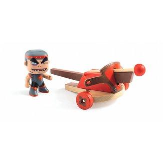 Djeco Djeco | Arty Toys RIDDER Klute en zijn Kruisboog