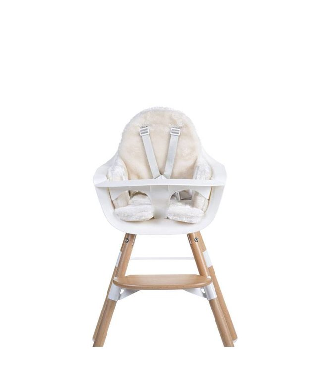 Childhome Evolu Stoelkussen Pels - Off White | Childhome