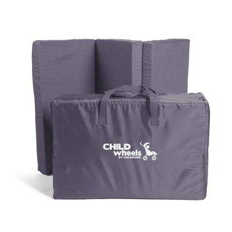 Childhome Matras voor Reisbed Antraciet - 60x120cm | Childhome