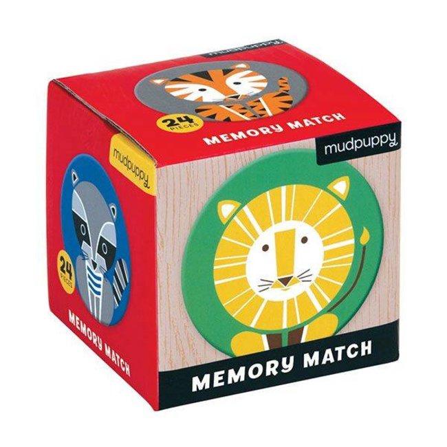 Mudpuppy Mudpuppy    Mini Memory Spel  -  Geometric Animals