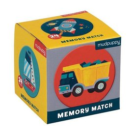 Mudpuppy Mudpuppy | Mini  Memory Spel  - Transportation