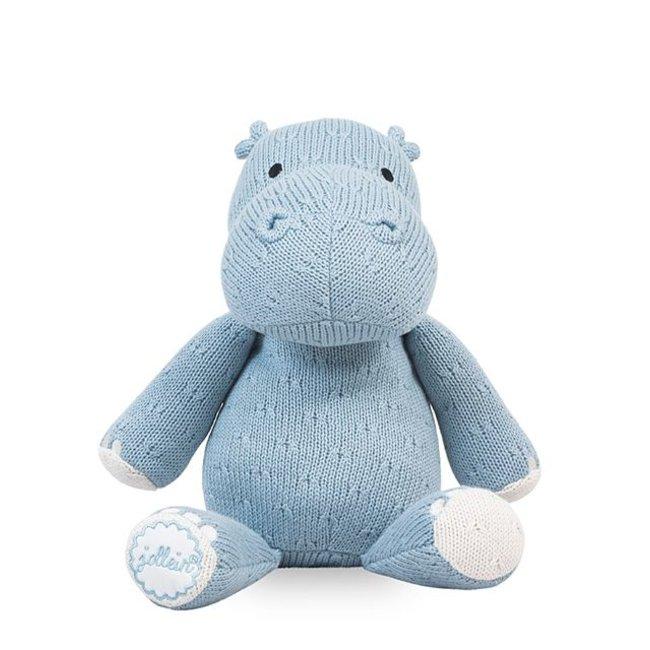 Jollein Knuffel Hippo / Nijlpaard - Soft Blue | Jollein