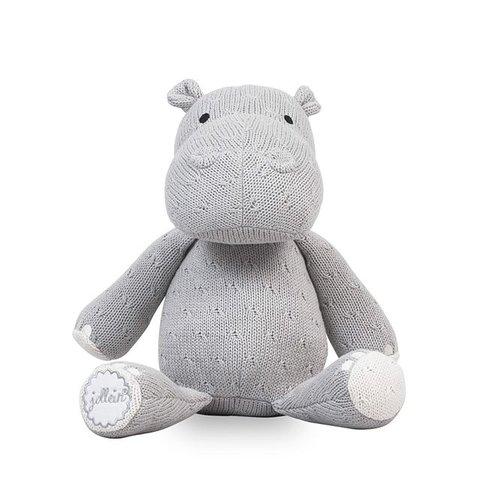 Knuffel Hippo / Nijlpaard - Light Grey | Jollein