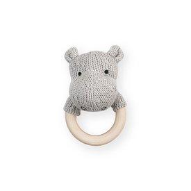 Jollein Rammelaar / Bijtring Hippo - Light Grey | Jollein