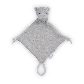 Jollein Knuffeldoekje / Doudou Hippo Light Grey | Jollein