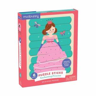 Mudpuppy Mudpuppy | Puzzel Sticks  - Enchanting Princess